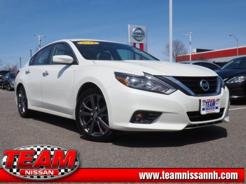 Certified Pre-Owned 2018 Nissan Altima 2.5 SR FWD 4D Sedan
