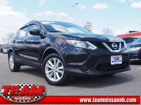Certified Pre-Owned 2017 Nissan Rogue Sport SV AWD 4D Sport Utility
